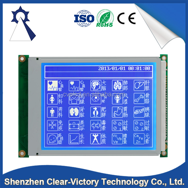 China suppliers wholesale 320 dots x 240 dots 6.2 inch monochrome tft lcd