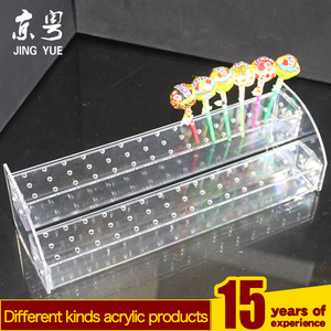 kids candy sugar lolly lollipops acrylic display stand for wholesale