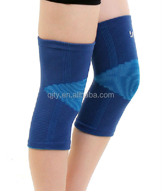 Hot Selling Elastic Adjustable Knee Brace With Factory Price, Black or pantone color are available