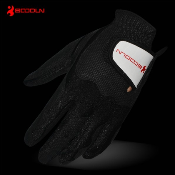 Fashion sheepskin golf gloves for mens,PU glof gloves for hot sell