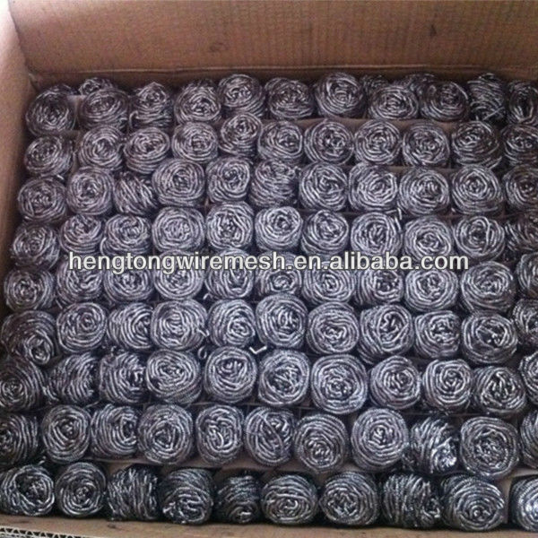 Galvanized wire scourer/Kitchen cleaning ball/Stainless steel cleaning ball