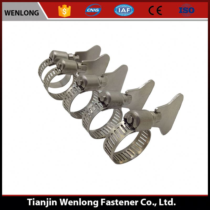 Low Price Brand Name Parts Special Handle American Hose Clamps