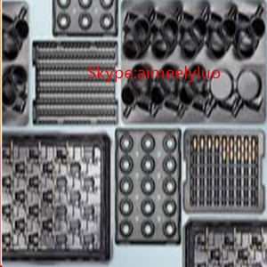 custom plastic injection parts product / metal insert precision plastic injection molding / overmolding for plastic parts