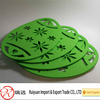 Promotion Green Easter egg design Felt placemat for home decoration