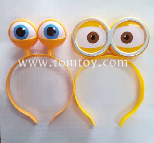 2018 LED Halloween Light Up Flashing Eyeballs Headbands