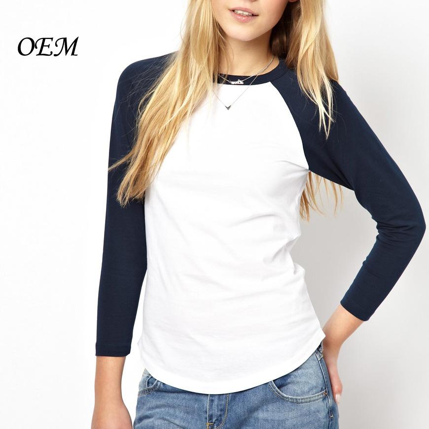 54222a9b23ddd 2014 100% para mujer de algodón barato al por mayor camisetas en blanco