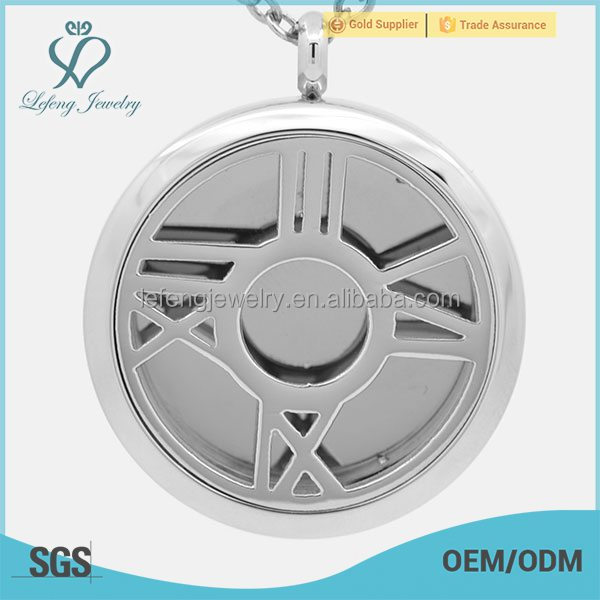 New design stainless steel aroma pendant,solid perfume containers jewelry
