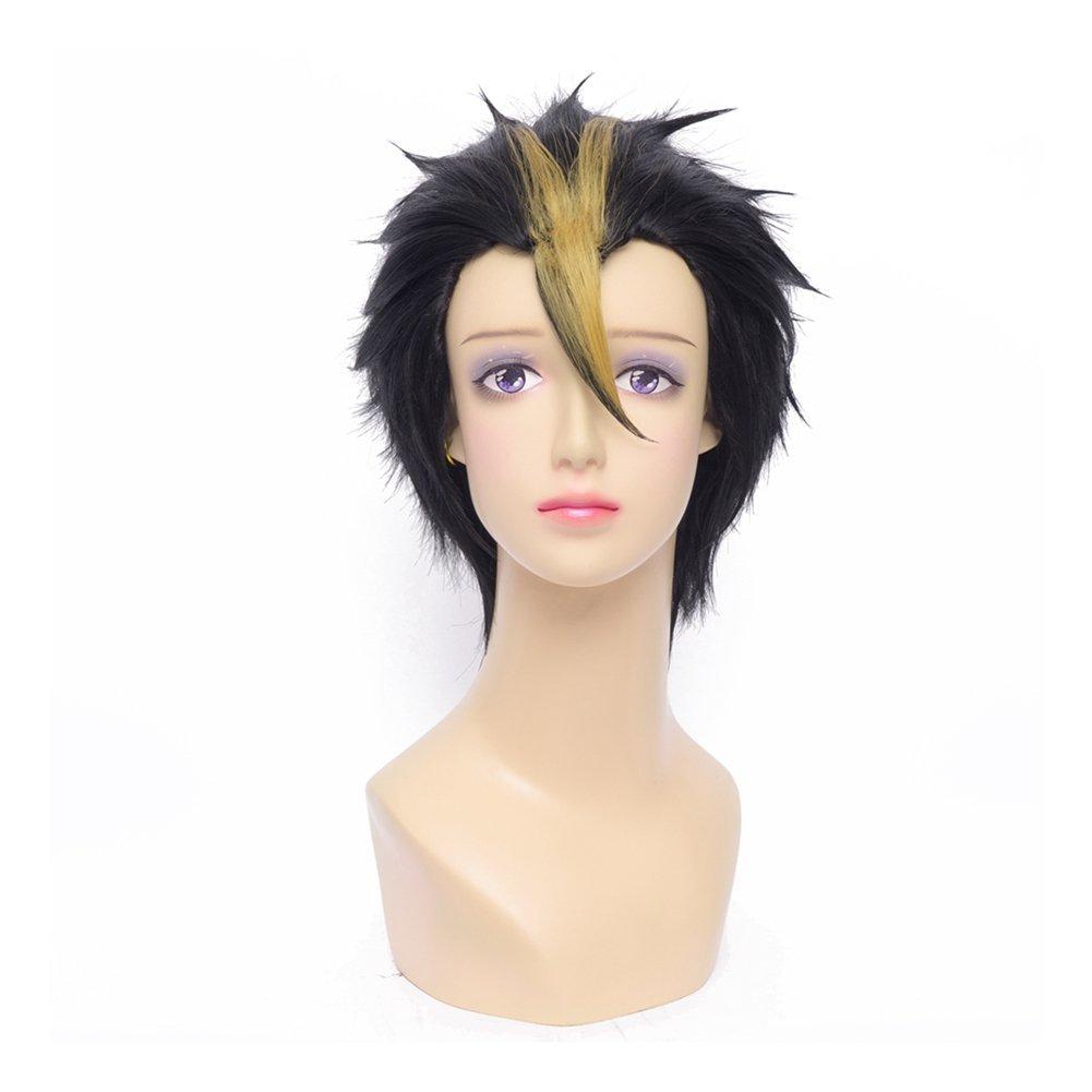 Buy Kadiya Cosplay Wigs Short Black Blonde Boy Male Anime Expo Hair In Cheap Price On Alibaba Com