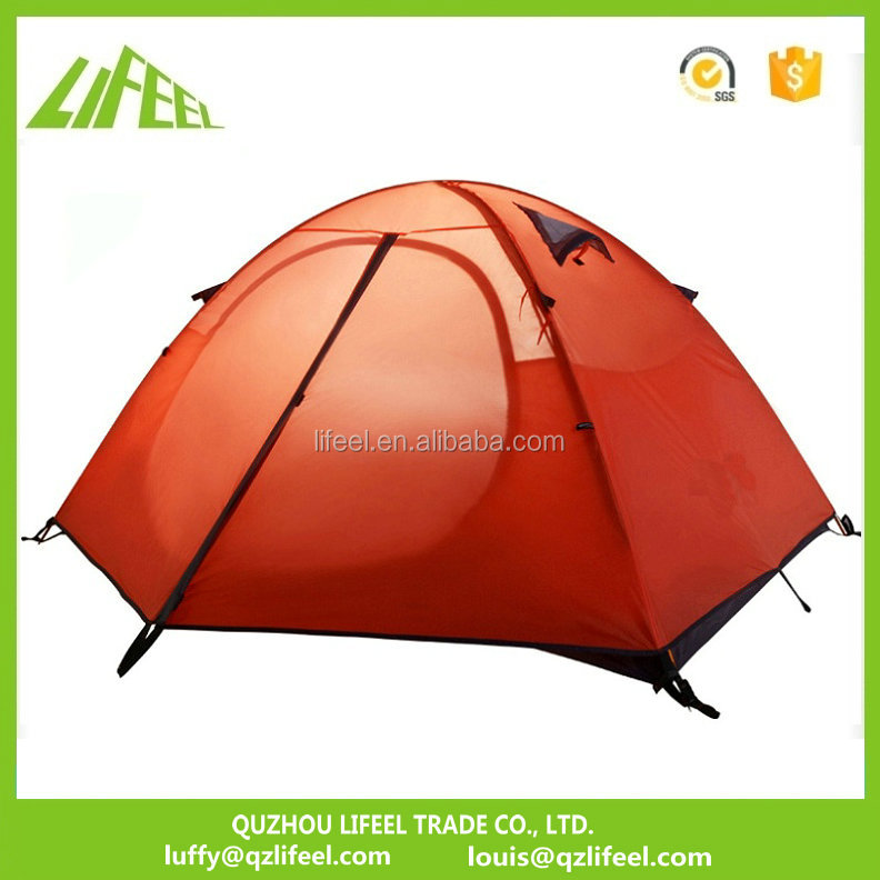 LFJ-028 aluminum pole heavy duty <strong>tents</strong> for camping