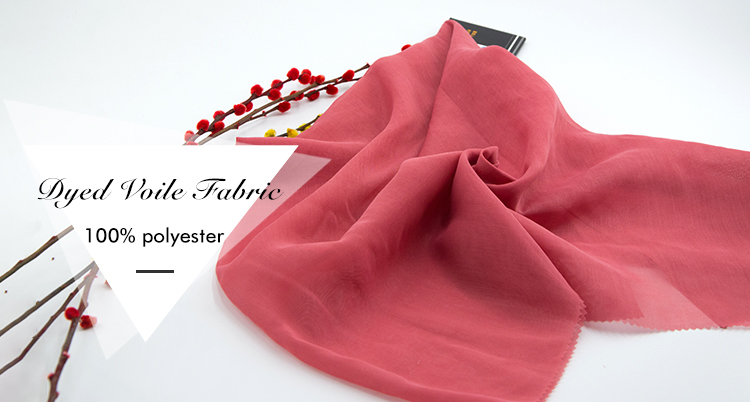 Best quality 100 polyester scarf fabric for printing or dying