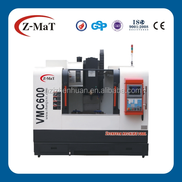 VMC600 Vertical Machining Center/3 axis cnc vertical machining center