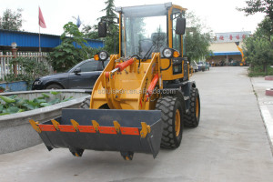 zly916A EPA approved European typearticulated mini wheel loader, high quality compact wheel loader ,
