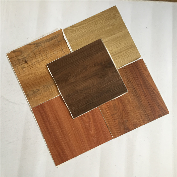 Hard Wood Design Pvc Material Vinyl Flooring Plank Tiles