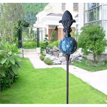 Bon Garden Decorative Cast Iron Hose Holder/hose Guides/stake   Buy Coiled  Garden Hose Holder,Wrought Iron Garden Stake,Metal Decorative Garden Stakes  ...