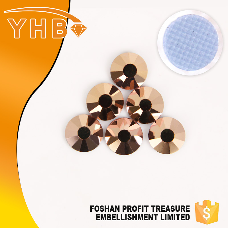 Famous brand YHB direct wholesaling cheapest shoe/clothes rhinestone applique
