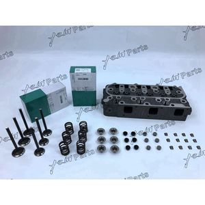 D1005 Complete Cylinder Head With Engine Valves And Valve Oil Seal For Kubota