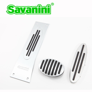 Savanini brand Car Footrest gas brake pedal pad for MINI R56 F55 F56 Cooper S Paceman Countryman Auto!No drilling! Protection!