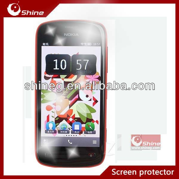 High clear screen protector for nokia 808