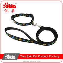 Wholesale prices different types premium pet dog leash and collar
