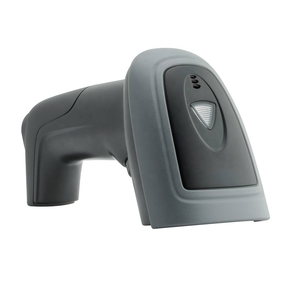 Cheapest Wired USB Barcode Reader Android Handheld PDF417 QR CODE Scanner Gun 1D 2D Barcode Scanner for Supermarket фото