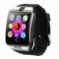 Q18 Smart Watch 2018 with Camera for Ios Android like gv18 gt08 A1 DZ09 SmartWatch