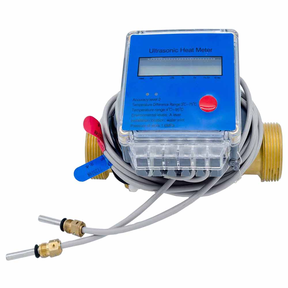 Btu Wall-mounted B Ultrasonic Flow Meter For Measurement Liquid Clamp On Flowmeter Flow Meter Water