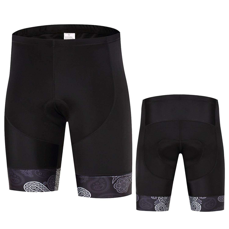 Get Quotations · Cycling Short Pants Summer MTB Black Lycra Bicycle Coolmax Bike  Shorts 9a03b5102