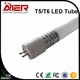 CE new led replacement fluorescent tube1500mmt5 glass led tube
