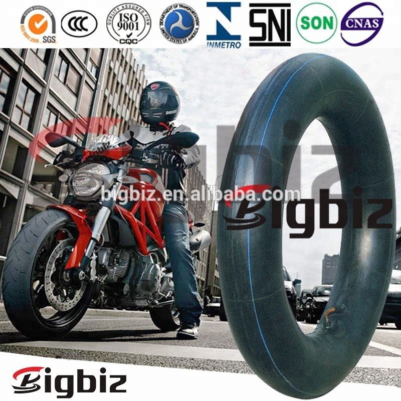 Professional motorcycle tire supplier factory motorcycle butyl rubber inner tube