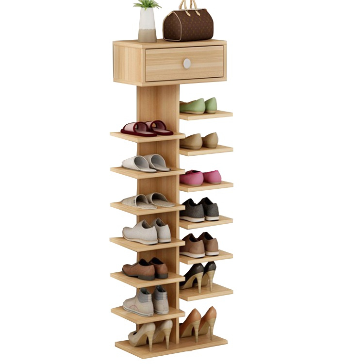 Best Selling Wood Modern Shoe Rack Holder for Living Room Shoe Cabinet