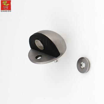 Stainless Steel Half Moon Tall Magnetic Door Stop
