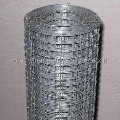 "hot dip galvanised welded wire mesh 1/2x1/2"" 25x1.2m aviary fence"