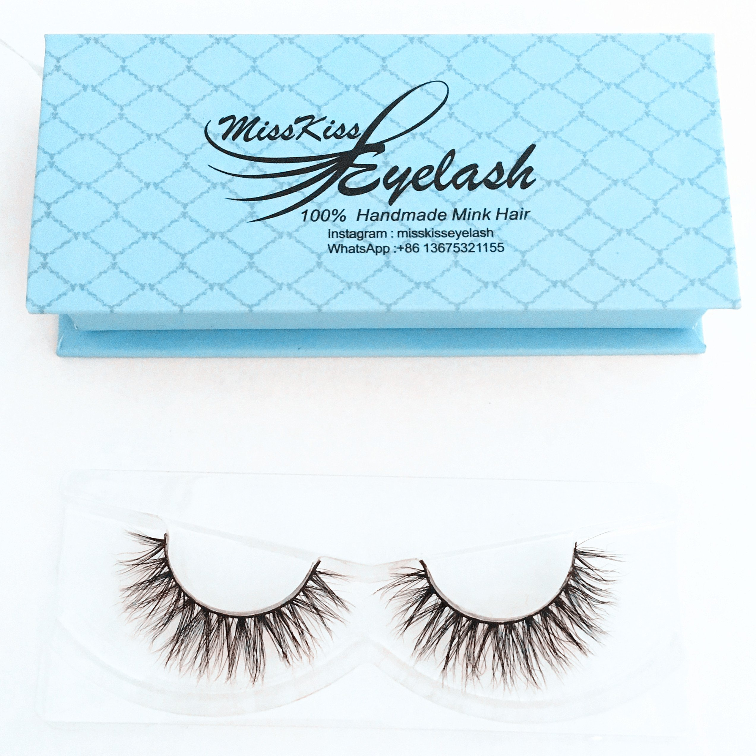 6f6bbd3884a Lashes Soft Thin Natural Style Mink 3D lashes Strip 100% Siberian Fur Fake  Eyelashes Hand