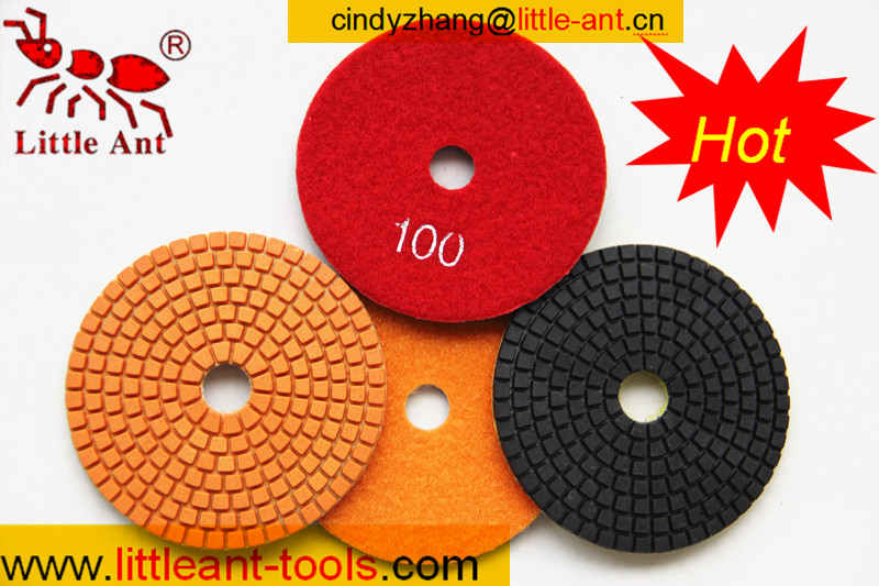 diamond wet polishing pad for marble grinding , concrete grinder pads