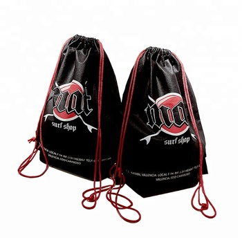 Best Price High Quality Professional Manufacture Non Woven Cloth Sport String Drawstring Bags Printing