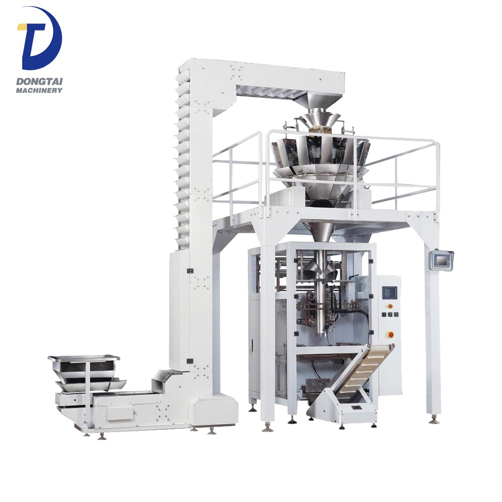automatic multihead weight  sunflower seeds granuals packing machine 1 kg