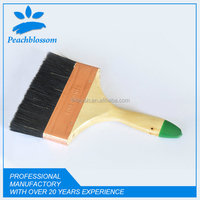 Fat Wooden Handle Customizable Pure Bristle Paint Brush