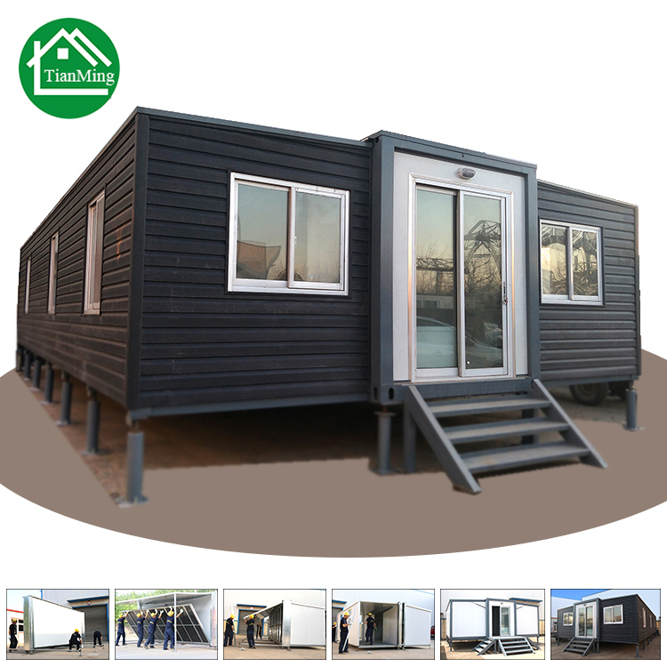 40 Feet Container Homes: Folding House Philippines 40 Feet Expandable Container
