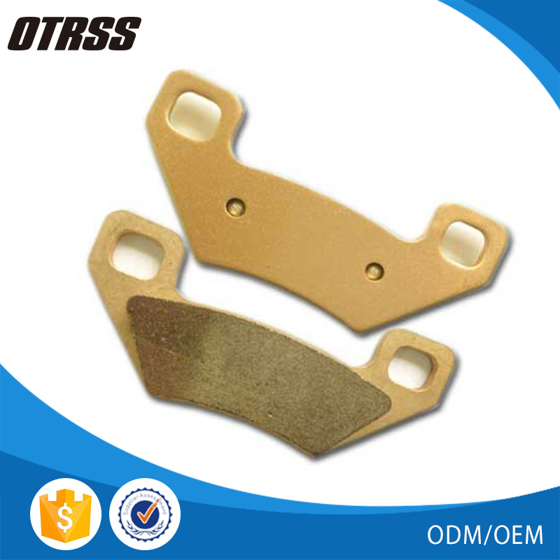 Chinese excellent quality ATV parts sintered front brake pad for Popularity