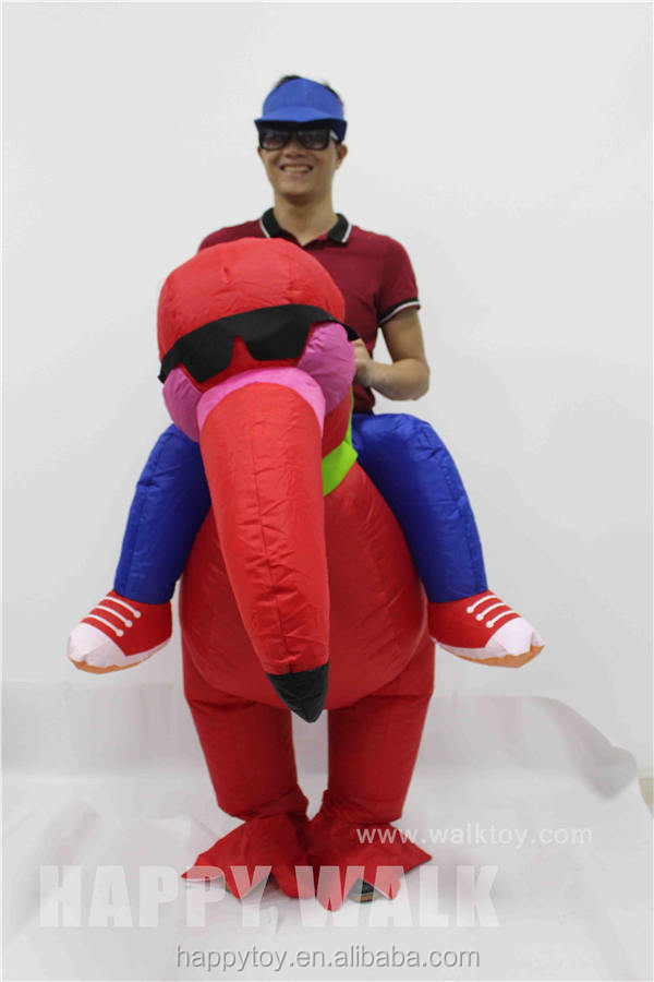 Inflatable turkey costume inflatable mascot costume for adult