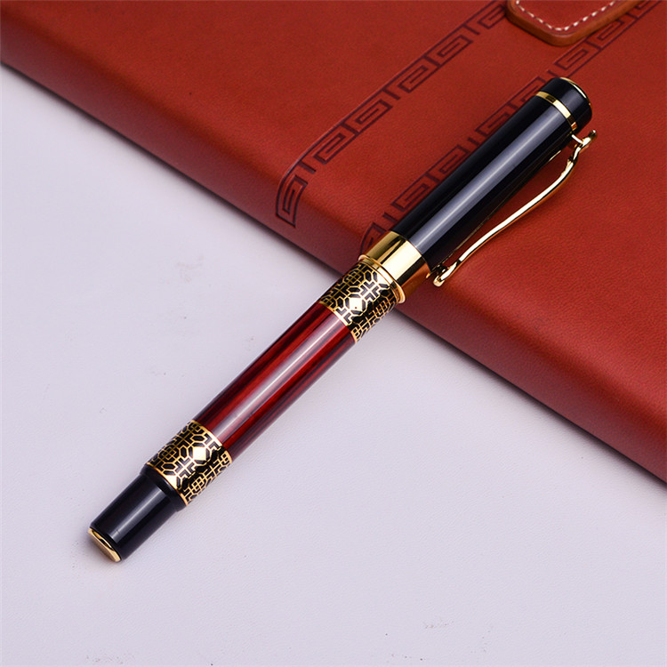 2020 Chinese wholesale and retail stationery luxury fountain pen high quality classic style metal pen for business gift