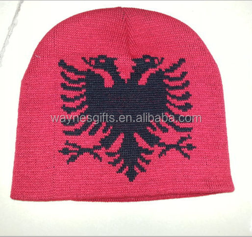 2018 world cup soccer fans winter knitted beanie hat