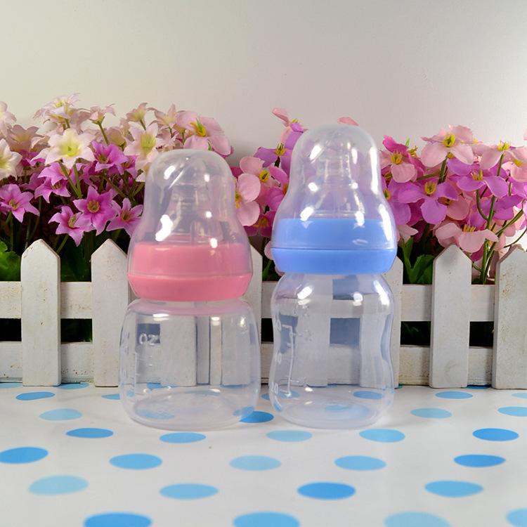 1 шт. 60 мл силиконовые детские младенческой новорожденных кормление уход соска бутылки бутылки