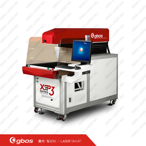 CO2 galvo laser marking machine T - shirt laser printer with 320W high performance