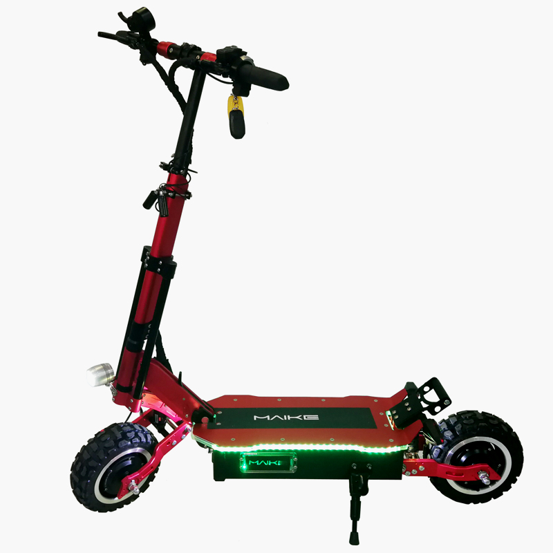 Hot 60v 11inch long range foldable fat tire electric scooter 5000w with seat for adults