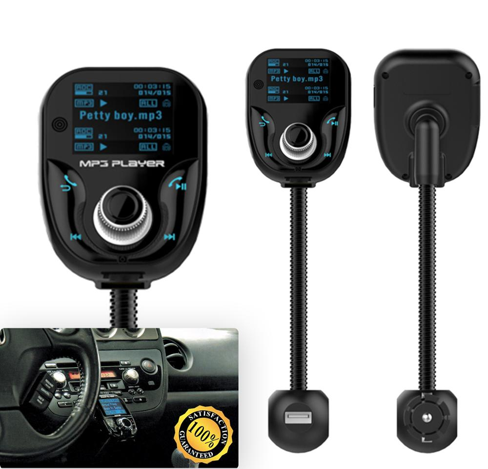 Free Consultation Waterproof Low-Cost Car Kit Mp3 Player Wireless Fm Transmitter