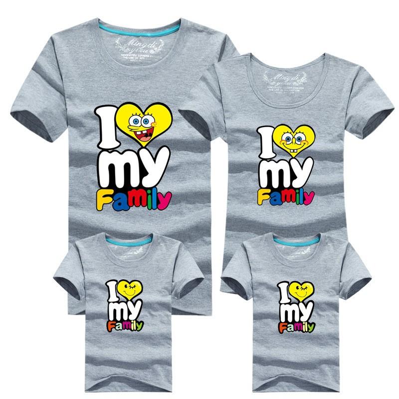 dd2278ba Wholesale HOT Selling 95% Cotton Shirt Yellow Family Set T Shirts ...