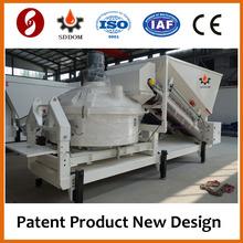 Mobile concrete batch plant MC1200