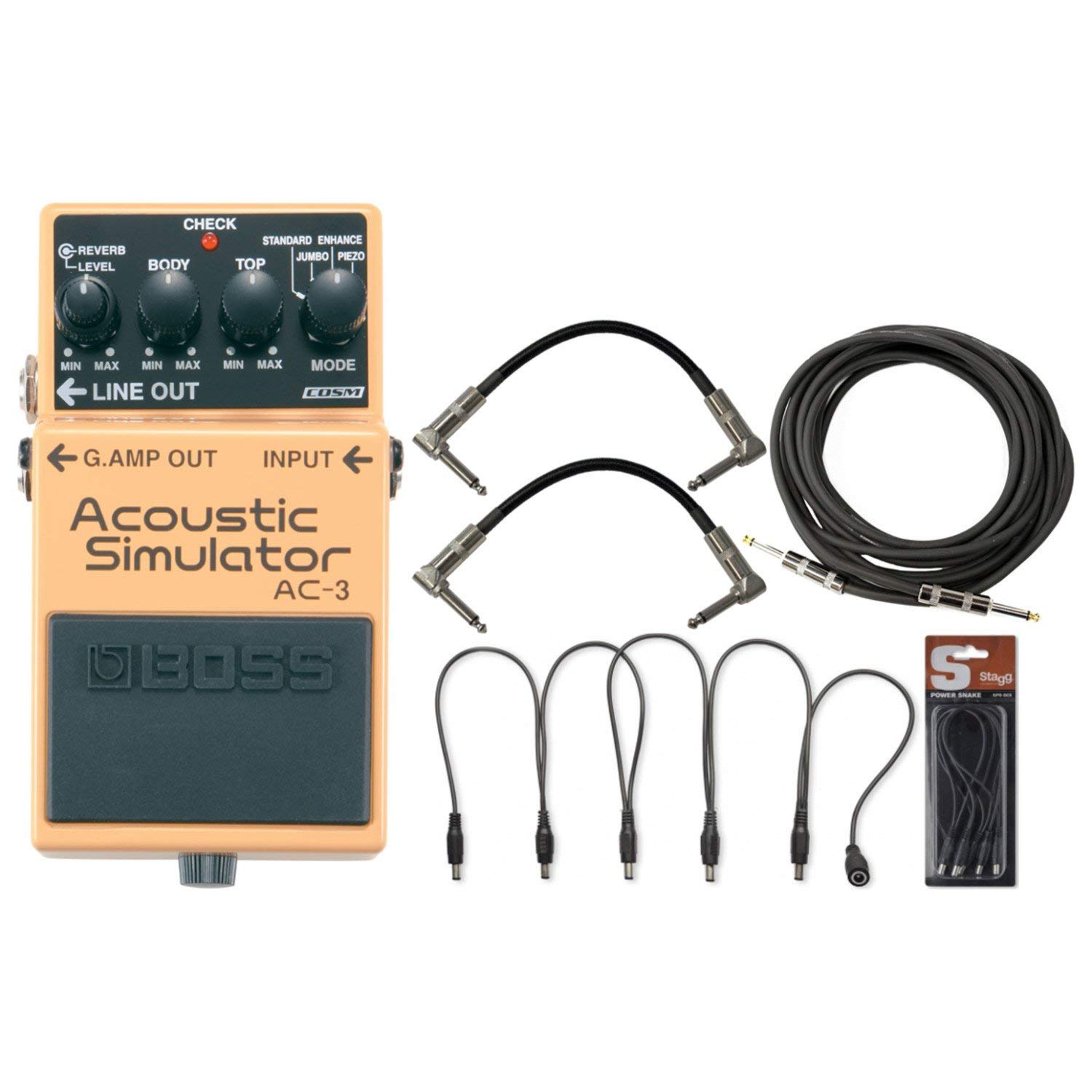 Cheap Best Acoustic Pedal Find Deals On Line At Electric Simulator Buy Product Alibabacom Get Quotations Boss Ac 3 W Daisy Chain Cable 2 Patch Cables