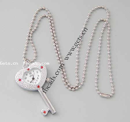 Zinc Alloy Key Digital Ceramic Watch 262338